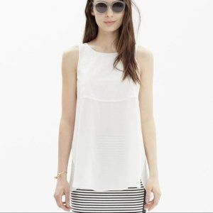 Madewell Sunbask Cotton and Silk Tank Top